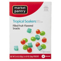 Market Pantry® Tropical Flavored Fruit Soakers, 6 - 0.9 oz. Pouches