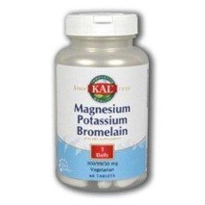 Magnesium Potassium Bromelain Kal 60 Tabs