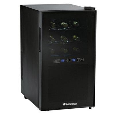 Wine Enthusiast Silent 18 Bottle Touchscreen Wine Refrigerator (2-