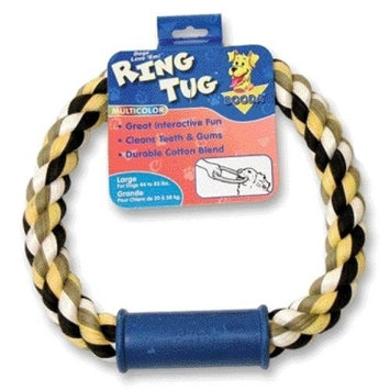 Booda Pet Products Ring Dog Tug Dog Toy