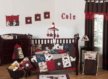 Jojo Designs, Llc. Sweet Jojo Designs Wild West Cowboy Collection 9pc Crib Bedding Set