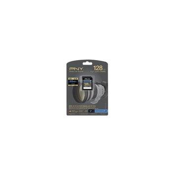 PNY P-SDX128U1H-GE 128GB Elite Performance SDXC Class 10 UHS0-1 Flash Card 90MB/s