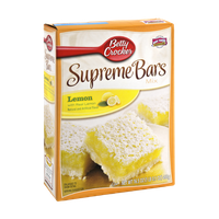 Betty Crocker Lemon Supreme Bars Mix