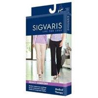 Sigvaris 860 Select Comfort Series 30-40 mmHg Women's Closed Toe Pantyhose - 863P Size: S4, Color: Suntan 36
