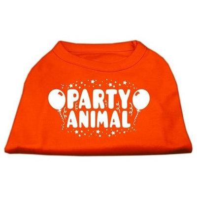 Ahi Party Animal Screen Print Shirt Orange Sm (10)