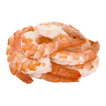 Shrimp Cooked Tail-On Jumbo - 26-30 CT