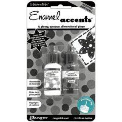 Ranger GAC27355 Inkssentials Black White Enamel Accents