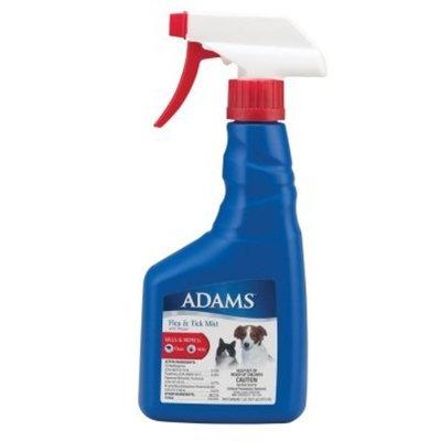 Adams Flea and Tick Dog/Cat Mist Non-Aerosol Spray, 16-Ounce