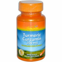 Thompson Nutritional Thompson Turmeric Curcumin 300 mg 60 Capsules