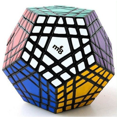 Unknown Mf8 Gigaminx Cube ,5X5,12 Surface,7 Layer Puzzle,Sticker Was Finish Medium Default