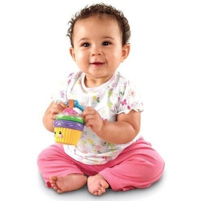 Fisher-Price Cupcake Rattle (Discontinued by Manufacturer)
