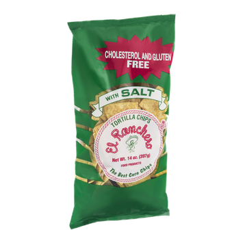 El Ranchero Tortilla Chips with Salt