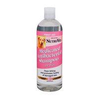 Nutri Vet Nutri-Vet Medicated Antibacterial Tea Tree Oil Shampoo for Dogs, 16-Ounce