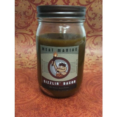 Meat Maniac Sizzlin' Bacon Scented Candle (8oz)