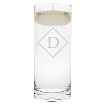 Cathy's Concepts Diamond Initial Floating Unity Candle D