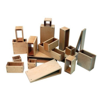 A+ Childsupply See Through Blocks - 17 Pieces