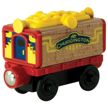 Learning Curve International, Inc. Chuggington Wooden Railway Musical Car by Learning Curve