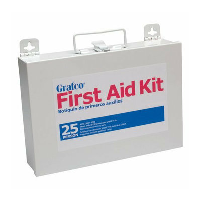 GF Health Grafco 25 Person First Aid Kit - 170 Pieces
