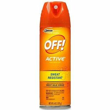 Off! Active Aerosol Insect Repellant