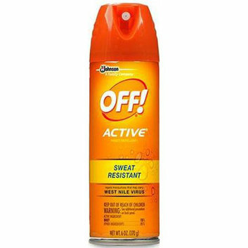 OFF! Active Insect Repellent Sweat Resistant