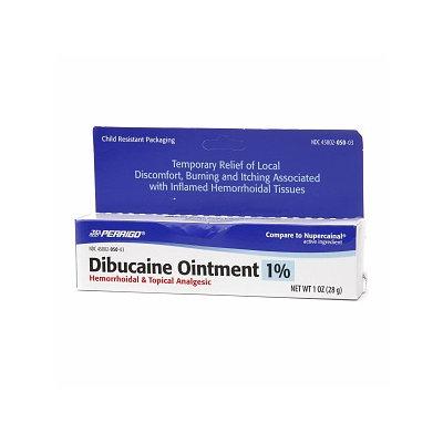 Perrigo Dibucaine Ointment 1% Hemorrhoidal & Topical Analgesic