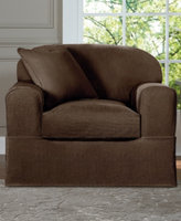 Sure Fit Acadia 2-Piece Chair Slipcover Bedding