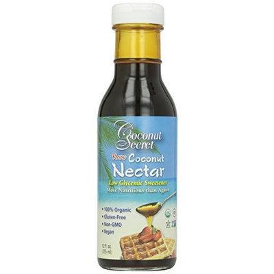 Coconut Secret Organic Raw Coconut Nectar Low Glycemic Sweetener - 12 oz