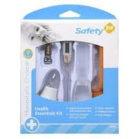 Safety 1st Health Essential Kit, White/Orange (Discontinued by Manufacturer)