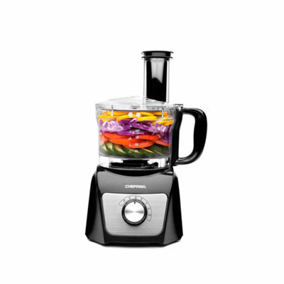 Chefman 8-Cup Food Processor - Black