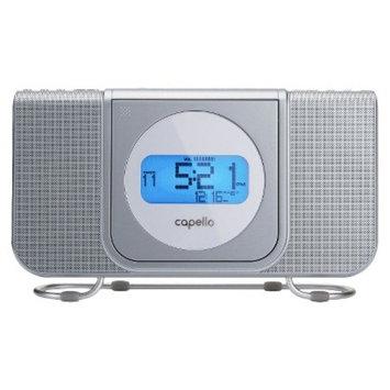 Capello CD Clock Radio - White (CR25)