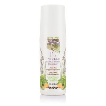 Pit Pouri! Natural Enzyme Deodorant Valley Green Naturals 3 oz Roll-on