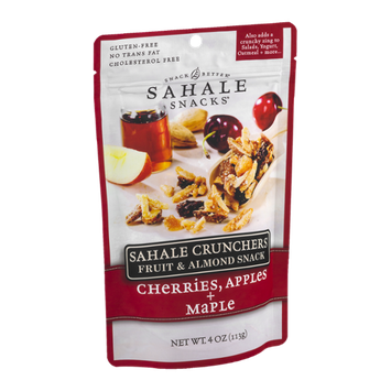 Sahale Snacks® Crunchers Fruit & Almond Snack Cherries, Apples + Maple