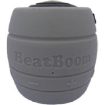 Micronet BB3000-SB BeatBoom Speaker System - Wireless Speaker(s) - Black Silver - 30 ft - Bluetooth - USB - iPod Supported