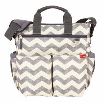 Skip Hop Duo Signature Diaper Bag, Chevron, 1 ea