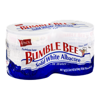 Bumble Bee Solid White Albacore in Water - 6 CT