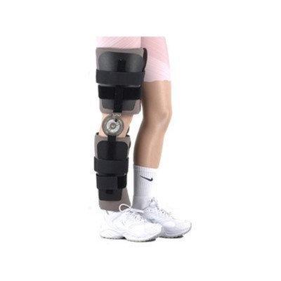 Elite Orthopaedics Post Operative Range of Motion Knee Brace with Plates