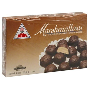 Joyva Chocolate Covered Marshmallow Maple, 9-ounces (Pack of 4)
