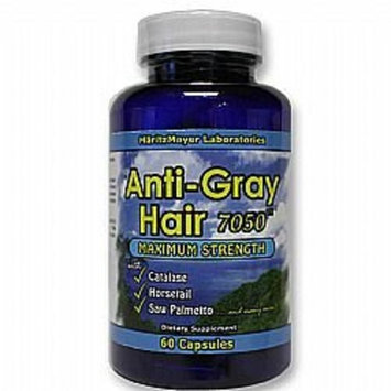 Maritz Mayer Original Anti Gray Hair 7050 Maximum Strength 60 Capsules (Pack of 2)