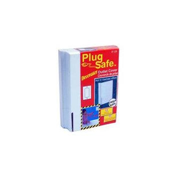 Plug Safe 00126P Decorator Outlet Cover For Decor Outlets - 24 Packs