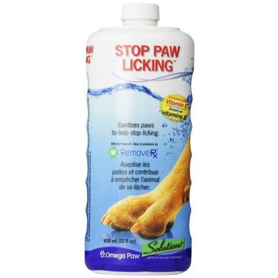 Omega Paw Solutions Omega Paw Stop Paw Licking for Dogs, 22-Ounces