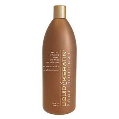 Liquid Keratin Professional Keratin Infusing Deep De-Frizz Conditioner, 33 oz, 33 oz