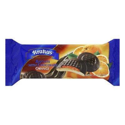 Krakus Orange with Chocolate Biscuits, 4.76 Oz (Pack of 21)