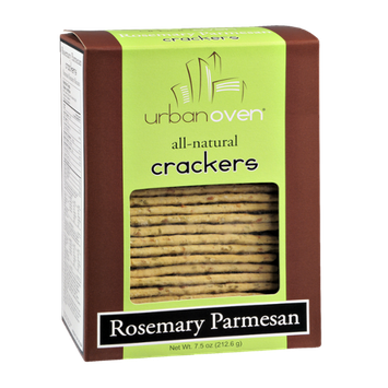Urban Oven Rosemary Parmesan Crackers