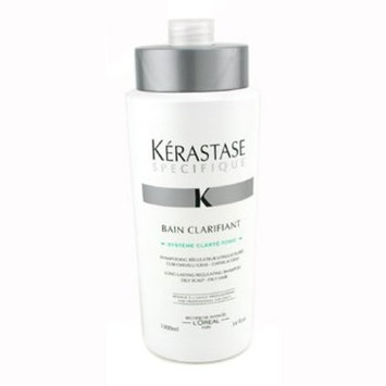 Kerastase Specifique Bain Clarifant Long Lasting Regulating Shampoo (For Oily Scalp & Hair) 1000ml