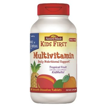 Nature Made Kid's First Multi Vitamelt Tablets - 100 Count