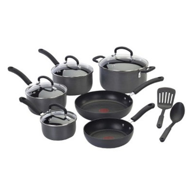 T-Fal E918SC64 Ultimate Hard Anodized 12-piece Cookware Set