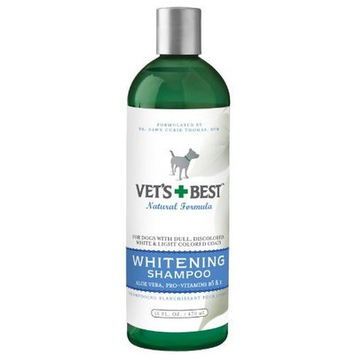 Veterinarians Best Vet's Best Whitening Dog Shampoo, 16 Ounces