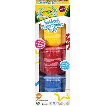 Crayola Bathtub Fingerpaints Soaps