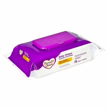 Parent's Choice Shea Butter Flip-Top Wipes