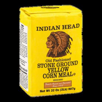 Indian Head Stone Ground Yellow Corn Meal